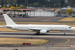 Ditty 73 (sabian404) Tags: 024452 boeing c32b c32 757 757200 b752 united states air force usaf 150 sos 108 wg special operations ops all white ang portland international airport pdx kpdx military
