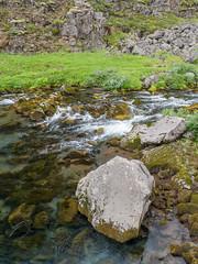 Rocky stream (James E. Petts) Tags: iceland flowing polariser stream water thingvellir