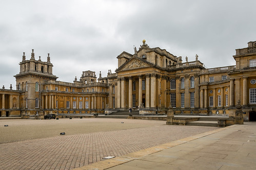 Blenheim Palace Side