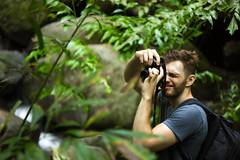 IMG_1905_1 (pavel.milkin) Tags: thailand phuket kathu travel nature kathuwaterfall leaves tree man photographer canon canon550d 550d helios helioslens helios442 442 green colour bokeh bokehlicious