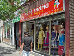Sari shop, Park Extension, Montreal (Blake Gumprecht) Tags: retail store clothing quebec montreal indian neighborhood immigrants saree sari immigration southasian multiculturalism eastindian ethnicdiversity parkextension asianindian modeshamu