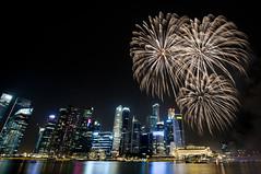 Trio (Andrew Tan 2011) Tags: nightphotography skyline singapore fireworks nationalday marinabay bigmomma thechallengefactory thepinnaclehof ndp2012 tphofweek165