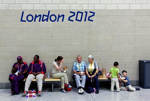 Olympic spectators