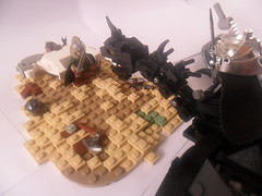 Nazgl Fell Beast - Pelennor (G g) Tags: black king lego battle lord lotr rings return captain fields beast rotk lotrrotk fell orc returnoftheking preview nazgul mordor witchking eowyn sneak fellbeast theoden pelennor dernhelm witchkingofangmar angmar legolordoftherings legolotr
