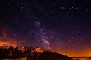 Noche en el Mont Blanc.  _DSC1802 r ma