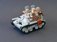 Lego ww2 -T-20 Komsomolets- (=DoNe=) Tags: world 2 by viktor war lego personal custom done russian carrier t20 komsomolets