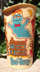 Vintage 1973 General Mills / Deka Monster Cereal Mixing Cup Box Premium (gregg_koenig) Tags: old cup monster vintage berry general box cereal boo 70s mixing 1970s mills 1973 premium deka count frankenberry chocula