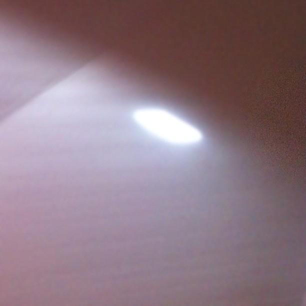 Altro raggio di luce.