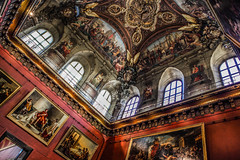 Pavillon Denon (Blindside_half) Tags: paris france museum louvre paintings ceiling denon