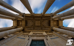 Entrance (A.G. Photographe) Tags: paris france monument french nikon fisheye national ag capitale nikkor 16mm hdr parisian anto d800 panthon arche quartierlatin xiii parisien soufflot saintegenevive nationaux antoxiii centredesmonumentsnationaux hdr5raw agphotographe