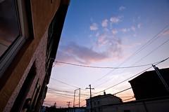 Tonight at Twilight (soupatraveler) Tags: sky philadelphia clouds outside outdoors evening twilight philly manayunk magichour dogwalk lightfantastic philadelphiaphotographer soupatraveler hollyeclark hollyclarkphotography sselevate wwwhollyclarkphotographycom