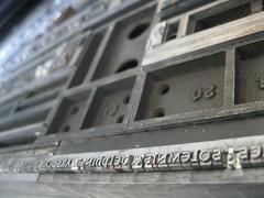 Colophon (Elwyn Brooks) Tags: printing type letterpress broadside typeform