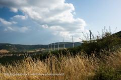 Le Viaduc de Millau (Cedric Doux) Tags: france nature landscape ciel pont nuages paysage millau viaduc cielbleu superstructure viaducdemillau publifbphoto