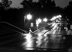 Notturno sul ponte (Claudio61 una foto ferma un ricordo nel tempo) Tags: white black canon persona monocromo ticino ponte luci riflessi bianco nero lampioni notturno blackwhitephotos bereguardo ponteinchiatte canon7d oltusfotos flickraward uniqueaward flickrunitedaward claudio61 virgiliocompany musictomyeyeslevel1