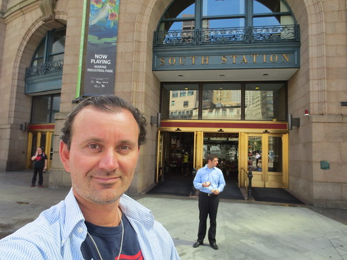 Ryan Janek Wolowski, South Station in Boston, Massachusetts