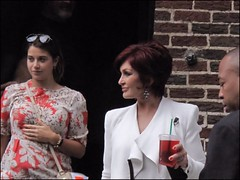 Sharon Osbourne (t_a_i_s) Tags: nyc sharonosbourne lateshowwithdavidletterman