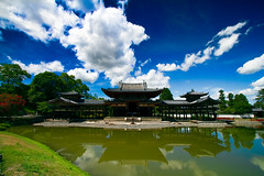 The Phoenix Hall of Byodo-in temple (Shibazo) Tags: phoenix japan temple hall kyoto  uji byodoin the