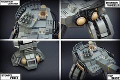 SS-Hunter [Z-1] Detailed Pic ([Reboot]) Tags: lego m1 ss contest picture ww2 hunter russian mech detailed panzerfaust brodies lcn steelpot brickarms brickarmsforums
