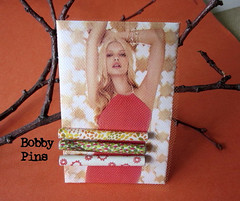 Bobby Pins - Paper Beaded (Wendylynn58) Tags: diy handcrafted hairpin bobbypin hairaccessory papercrafting paperbead