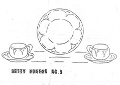 279 cups 2 (bcampbell_to) Tags: vintage embroidery plate cups transfer mayfair 279