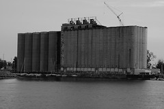 "Grain Elevator on Erie Canal • <a style=""font-size:0.8em;"" href=""http://www.flickr.com/photos/59137086@N08/7897597272/"" target=""_blank"">View on Flickr</a>"