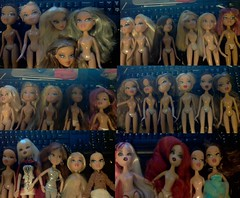 Bratz collection part 2 (Colored-Insanity) Tags: pictures fun dolls collection jade sasha yasmin identify 62 2012 bratz 2010 cloe 2011
