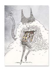 Las muelas del fantasma (carlossadness) Tags: sadness carlos ilustracion
