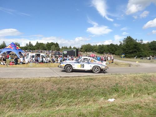 ADAC Rallye Deutschland 2012 366 Arena Panzerplatte - Historic Marathon