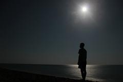 al mare di notte (mafratra) Tags: sea italy moon beach night italia mare luna notturna salento puglia spiaggia notte campeggio rivadiugento senzaflash