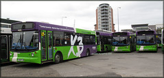 Ipswich ''Taking you places'' (Colin H,) Tags: bus london sc buses depot alexander dennis dart