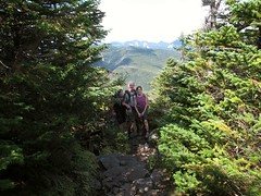 Climbing Dix 1209012170w (gparet) Tags: trees mountain mountains nature forest outdoors high woods hiking scenic trails adirondacks vista peaks dix adirondacksstatepark