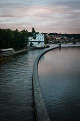 (seua_yai) Tags: street building architecture river design europe european prague czechrepublic canondslr canon50mmf14usm cityurban canon5dmkii