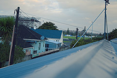 lines (sammwidge) Tags: blue houses roof avondale racecourse antenna
