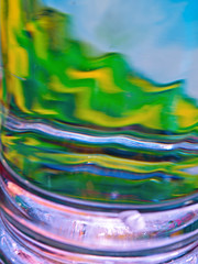 Aboriginal Escape (jaxxon) Tags: distortion abstract macro water glass lens landscape prime nikon distorted micro refraction