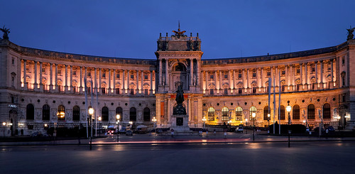 Wien_Hofburg@Night