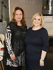 Norah Casey and Carmel Breheny at the launch of the Marks & Spencer Autumn Winter Collection in the Rooftop Restaurant in M&S on Grafton St