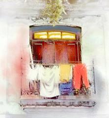Havana Balcony 10 (Artypixall) Tags: texture window balcony havana cuba clothes shutters getty faa lahabana clothelines