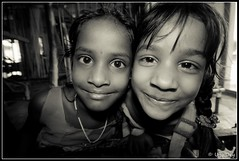 W I D E (ujjal dey) Tags: blackandwhite monochrome smile kids faces wide dreams sigma1020mm canon500d ujjal ujjaldey ujjaldeyin