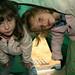 Suas filhas Nikita e Jessica