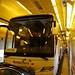 Ônibus dentro do trem na França...