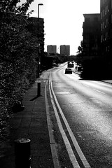 Street - #21 (PicarusSlim) Tags: street uk blackandwhite white black lines fence buildings photography photo cool shots yorkshire leeds inspired gritty clear 365 gareth grids westyorkshire hedges ghz hoyle mcbitty ghzphotography