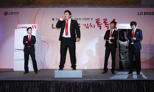 LG전자, 톡 쏘는 김치 맛 알리는 'LG 디오스 김치톡톡쇼' 개최