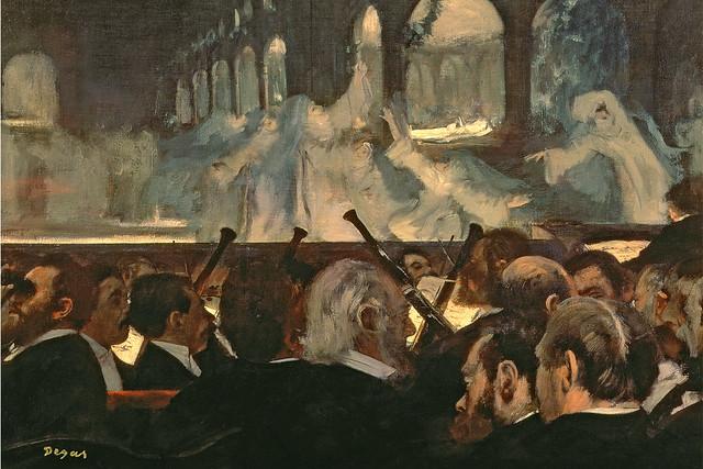 The Ballet Scene from Meyerbeer's Opera Robert Le Diable, by Edgar Degas © Bridgeman Art Library