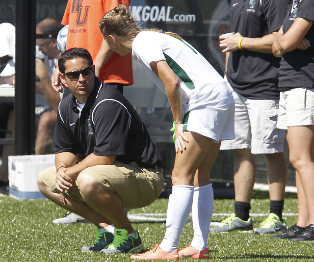 Josh Ruggiero, entering his sixth year as head coach, released the women's soccer 2013 schedule which features seven home games and hosting the CACC Tournament. Copyright 2013; Wilmington University. All rights reserved. Photo credit: Tim Shaffer