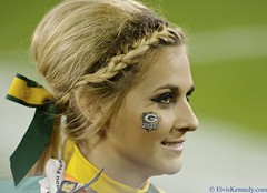 Packer Cheerleader (elviskennedy) Tags: woman girl beautiful wisconsin ball suck football referee nikon bears nfl aaron north quarterback pass elvis donald packers national clay blond greenbay driver 12 cheerleader sack rodgers helmut 88 touchdown 90 wi 70200 kennedy finley league matthews chicagobears nfc 52 lambeau lombardi greenbaypackers lambeaufield cheesehead woodson fumble linebacker frozentundra gridiron d4 greenandgold endzone donalddriver interception titletown jermichael aaronrodgers jordynelson claymatthews wwwelviskennedycom elviskennedy charleswoodsen bjradji