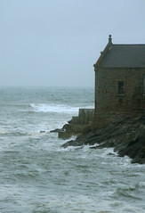 Porthleven lifeboat house (FreshAirFreak) Tags: ocean sea building rock cornwall surf wave atlantic lifeboathouse porthleven