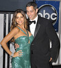 Sofia Vergara, Nick Loeb 64th Annual Primetime Emmy Awards, held at Nokia Theatre L.A. Live - Press Room Los Angeles, California