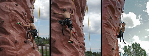 3 Mikes climbing