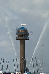 Winged Tower (clare.blandford) Tags: tower hampshire coastwatch calshot southamptonwater