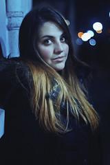 Maguisa (TheJennire) Tags: photography fotografia foto photo canon camera camara colours colores cores light luz young tumblr indie teen hair cabello pelo cabelo cold winter providencia chile santiago people portrait girl eyes ojos olhos face fashion night